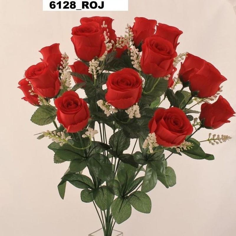 POMO CAPULLO REDONDO (ROJO) REF: 6128 ROJ PRECIO: 5,50€