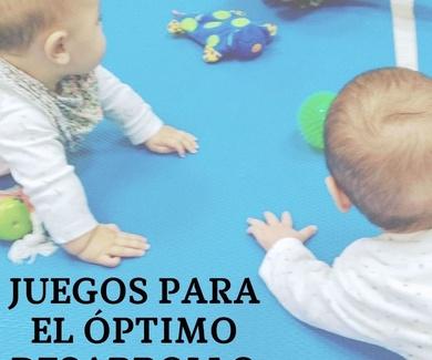 Juegos para el óptimo desarrollo del bebé en Getxo
