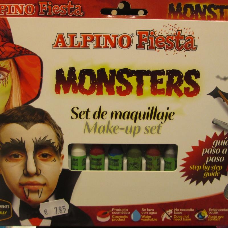Set de maquillaje ALPINO MONSTRUOS