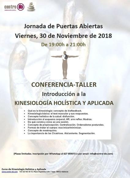Jornada de Puertas Abiertas Viernes, 30 de Noviembre de 2018  De 19:00h a 21:00h    CONFERENCIA-TALL