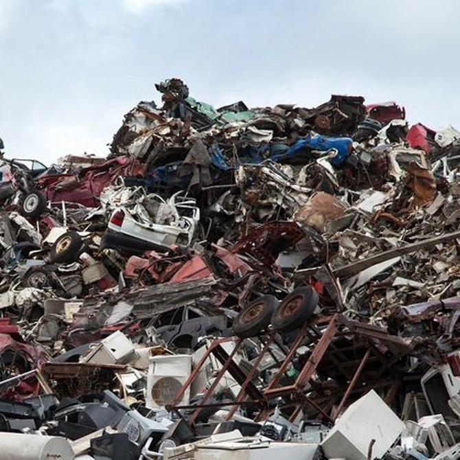 Reciclaje de chatarra: economía y medio ambiente de la mano