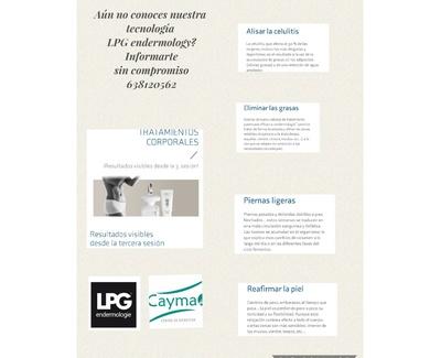 Tecnología LPG Endermology
