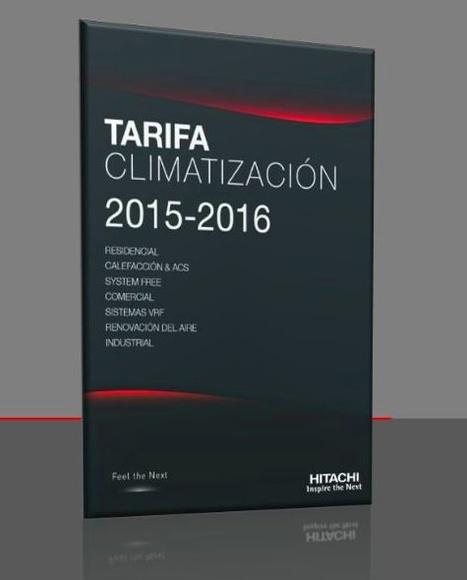 Tarifa Climatización Hitachi 2015/2016 Madrid