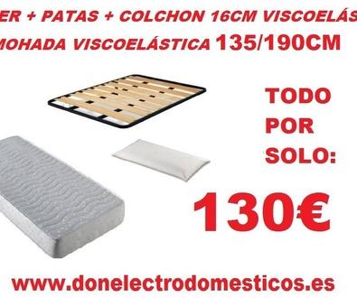 Ofertas en colchones en Don Electrodomesticos