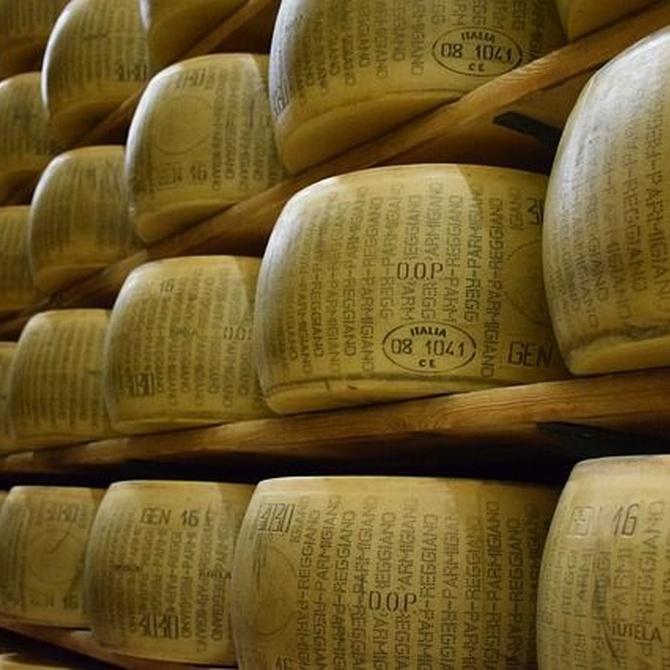Los principales quesos italianos