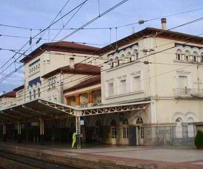 Estación de tren de la calle Dato