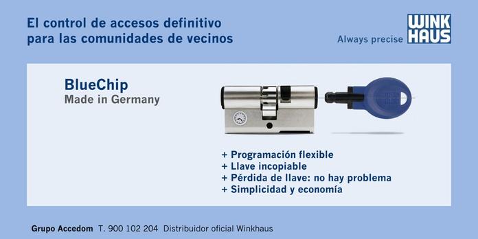 BlueChip: Catálogo de Accedomkeys SL
