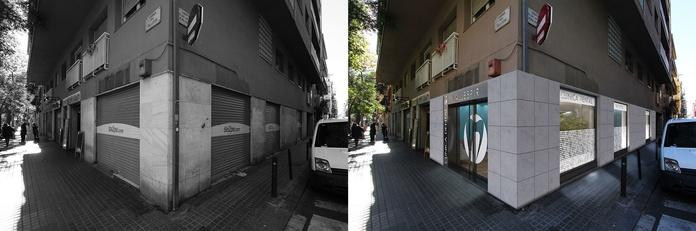 Diseño de local para clínica dental en Barcelona.