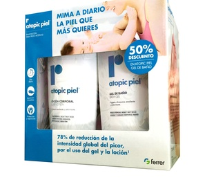ATOPIC PIEL LOCION CORPORAL 500 ML + GEL DE BAÑO 500 ML