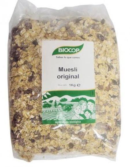 MUESLI ORIGINAL 1 Kg, BIOCOP.: Catálogo de La Despensa Ecológica