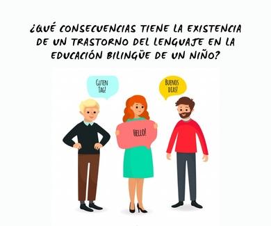 Educación bilingue y trastorno del lenguaje