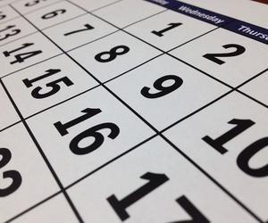 Calendario y horarios