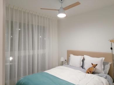 Visillo dormitorio