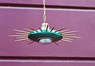 lámpara sputnik finales de los 50