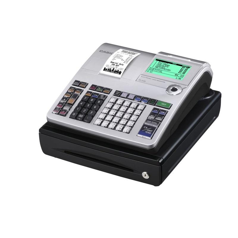 Registradora CASIO SE-S400: Productos y Servicios de Rosan