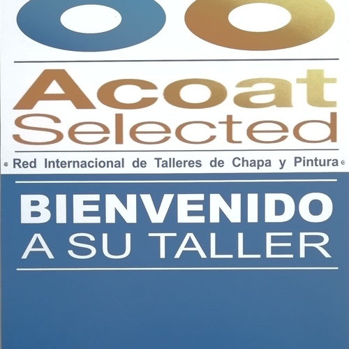 Taller perteneciente a la red de talleres Acoat Selected