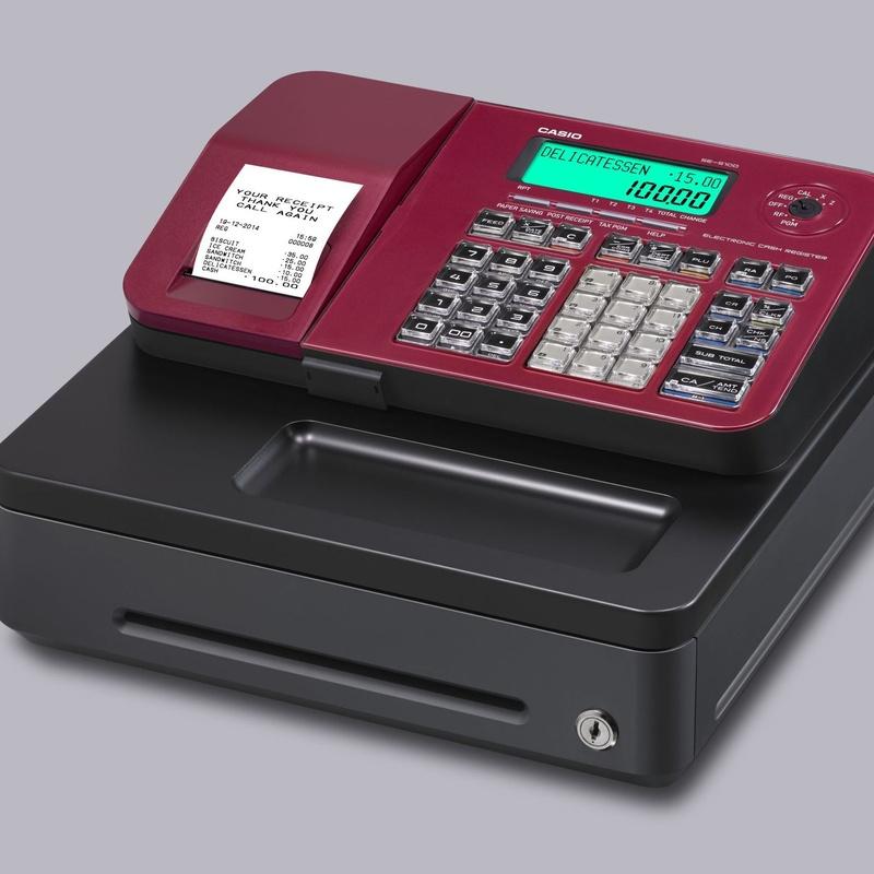Registradora CASIO SE-S100: Productos y Servicios of Rosan