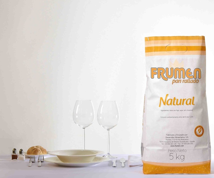 Pan Rallado Natural Bolsa de 5 Kgs. FRUMEN
