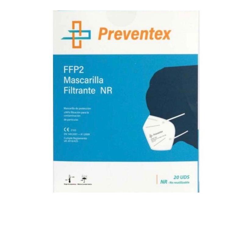 Mascarilla FFP2 blanca (20u): Servicios de Farmacia Casariego