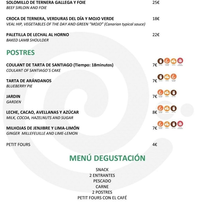Nuestra Carta: Hotel - Restaurante de HOTEL - RESTAURANTE JAVIER MONTERO