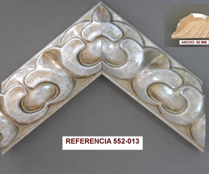 REF 552-013: Muestrario de Moldusevilla