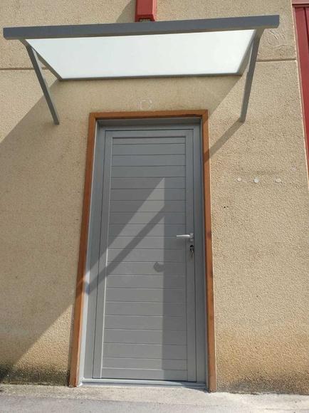 Puertas de entrada en aluminio