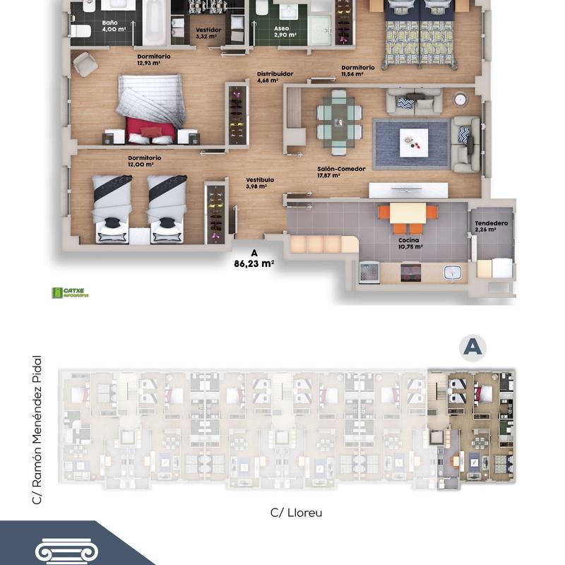 viviendas obra nueva Gijón