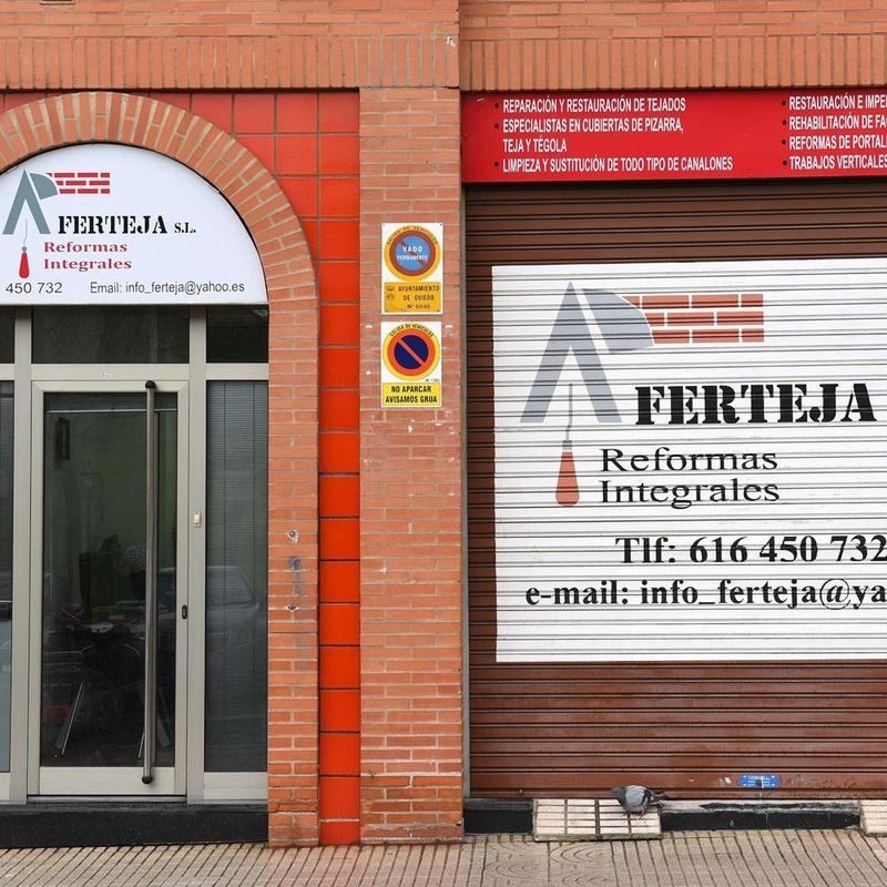 Reformas integrales: Servicios de Reformas Integrales Ferteja, S. L.