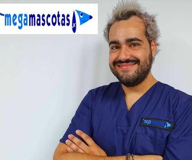 Víctor Manuel Ríos soy veterinario de Megamascotas