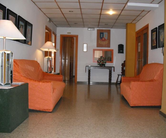 WiFi: Instalaciones y servicios de Residencia Universitaria El Pilar