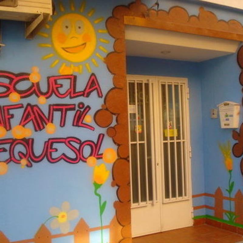 El centro y sus aulas: Servicios de ESCUELA INFANTIL PEQUE-SOL, S.L.