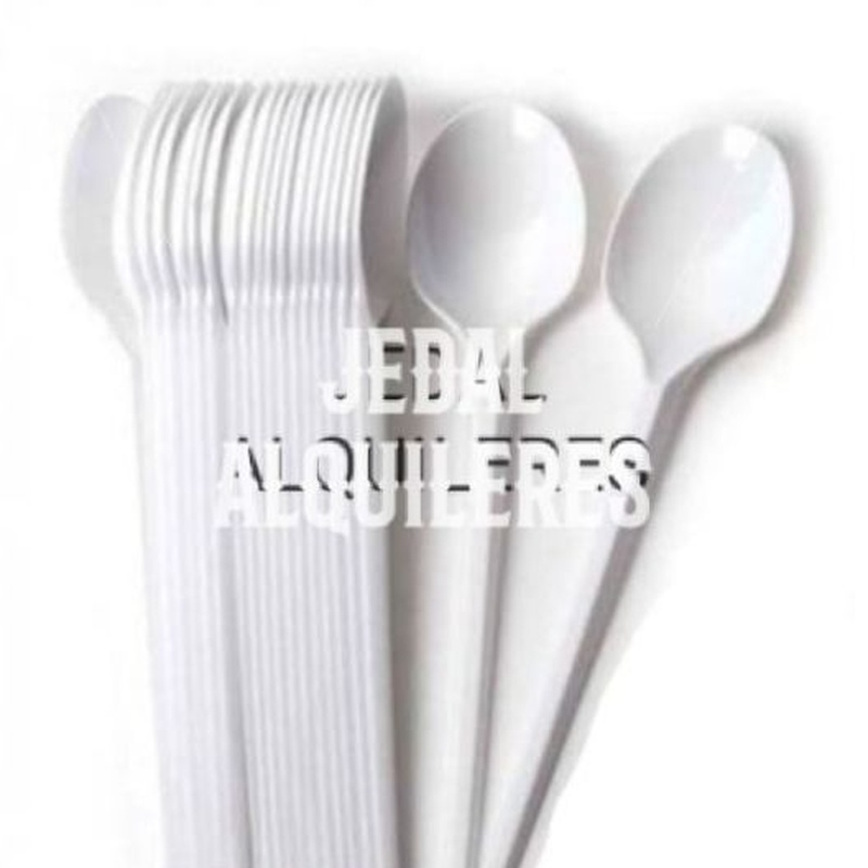 CUCHARILLAS BLANCAS 100 UNIDADES: Catálogo de Jedal Alquileres
