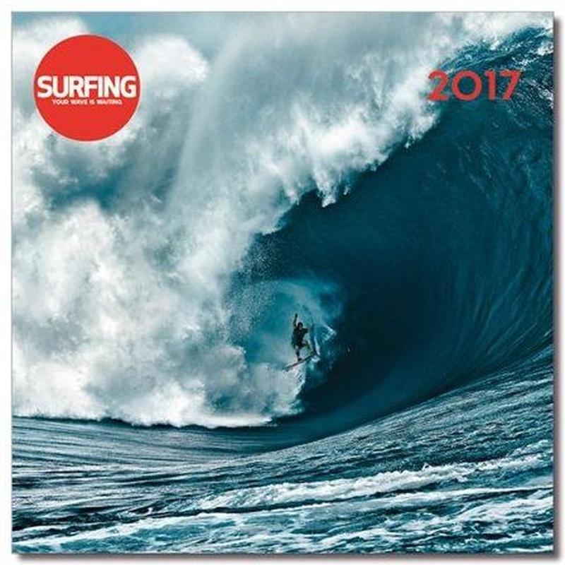 Calendario de Pared 2017 Surfing