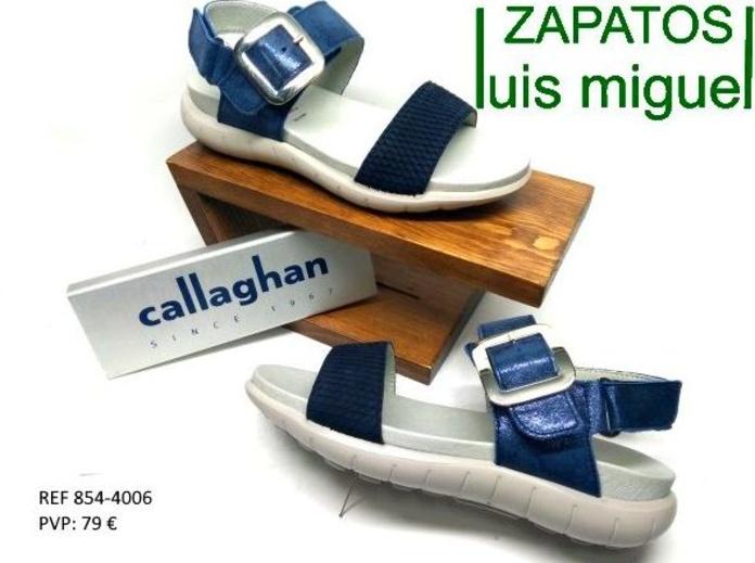 Sandalias planas de Callaghan: Catalogo de productos de Zapatos Luis Miguel