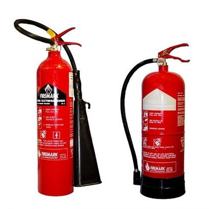 Historia del extintor de incendios