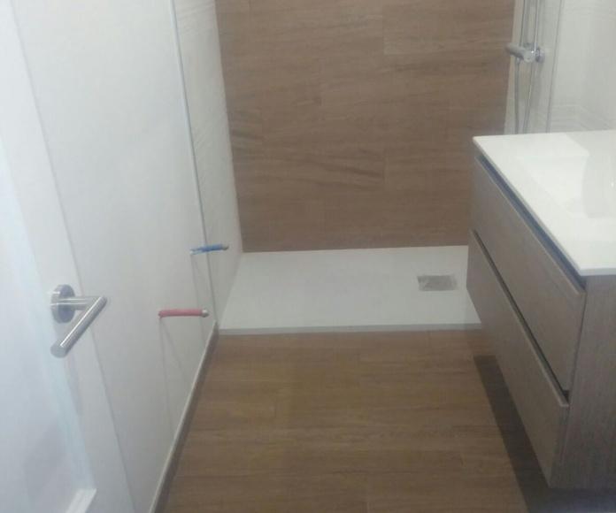 Últimos trabajos: reforma integral de piso
