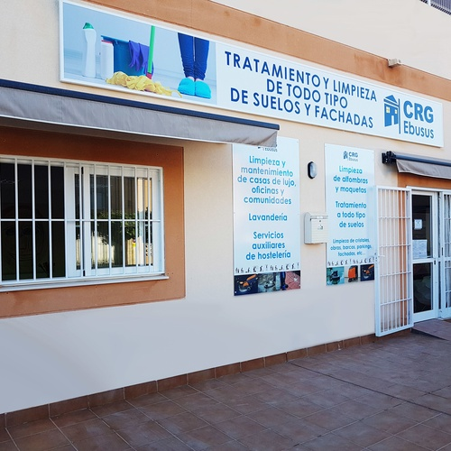 Floor polishing in Ibiza | CRG Ebusus