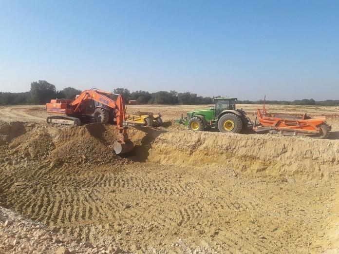 Esplanaciones para granjas