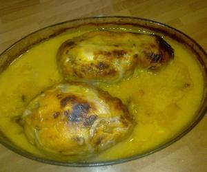 Venta de diversos platos de pollo preparados