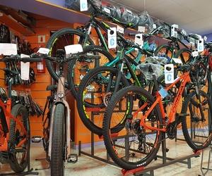 Tienda de bicicletas en Sevilla