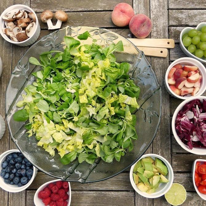 Los beneficios de las frutas y las verduras