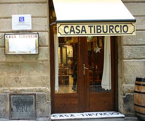 Fachada del restaurante en San Sebastián