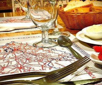 Carta en inglés: Nuestra carta de Restaurante Casa García's