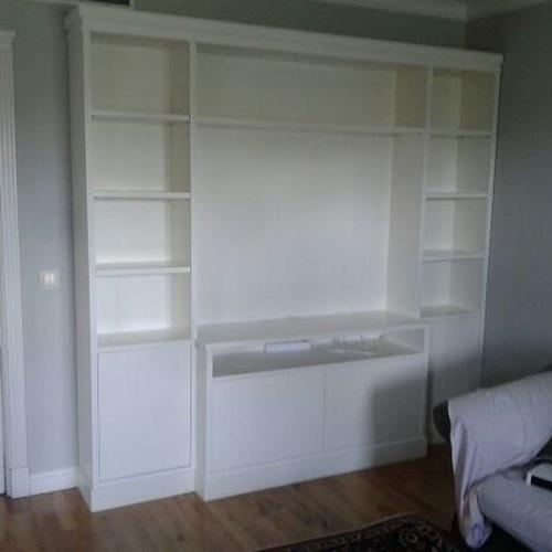 librerías salón blanca