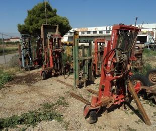 Elevadores hidráulicos para tractor