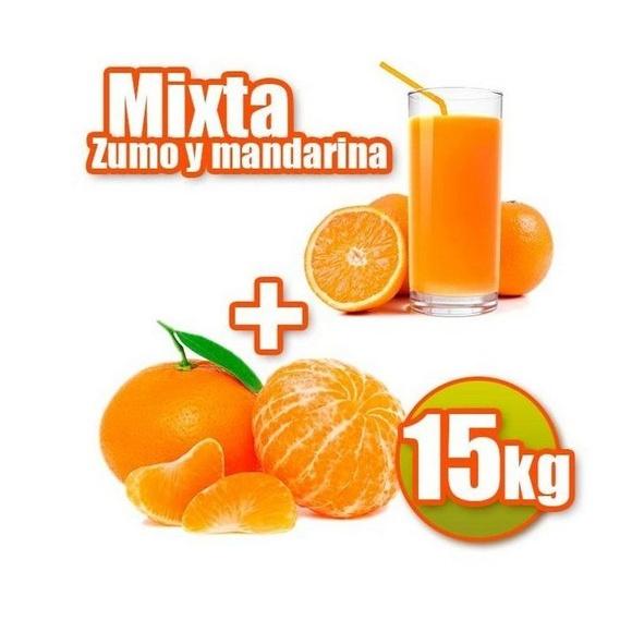 Mixta de zumo y mandarina 15 kg: Productos de Naranjas Julián