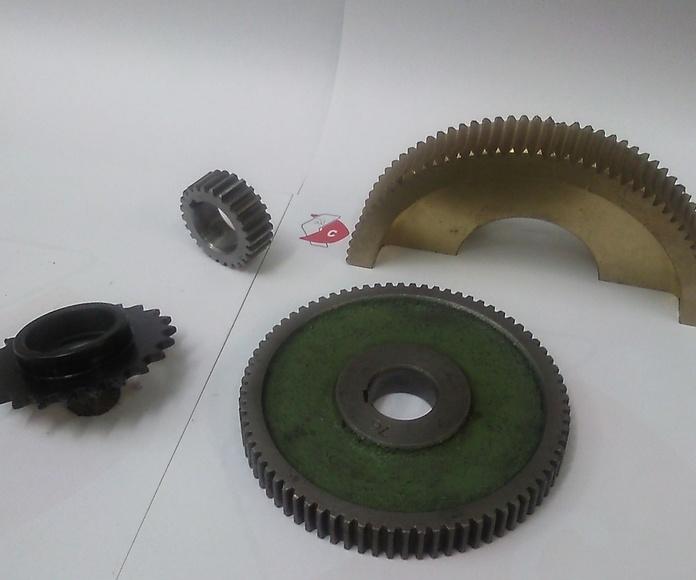 Fabricacion en distintas medidas, y  en distintos materiales. Se fabrica a partir de una muestra.