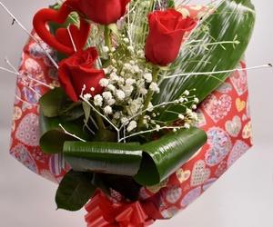 Jarrón 3 rosas