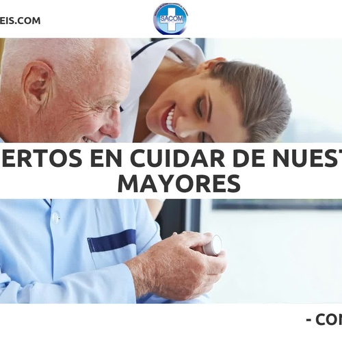 Care of the elderly at home Gracia | Sacom Serveis Geriàtrics
