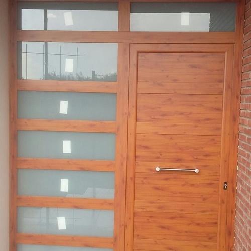 Puertas de madera de exterior